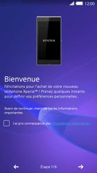 Sony Xperia Z2 - Premiers pas - Créer un compte - Étape 4
