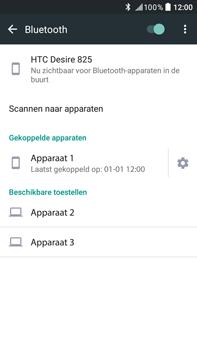 HTC Desire 825 - WiFi en Bluetooth - Bluetooth koppelen - Stap 8
