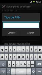 Sony Xperia J - Mensajería - Configurar el equipo para mensajes multimedia - Paso 14