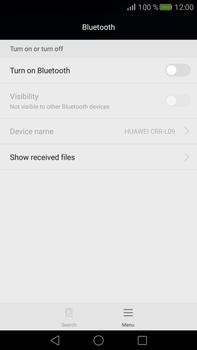Huawei Mate S - WiFi and Bluetooth - Setup Bluetooth Pairing - Step 4