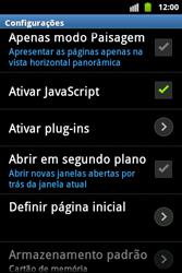 Samsung Galaxy Ace - Internet - Como configurar seu celular para navegar através de Vivo Internet - Etapa 22