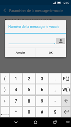 HTC One M9 - Messagerie vocale - Configuration manuelle - Étape 7