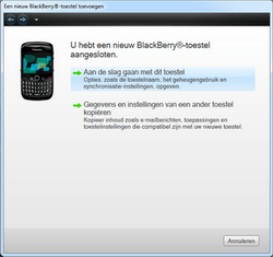 BlackBerry 8520 Curve - Software - Update installeren via PC - Stap 15
