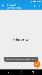 Sony Xperia M4 Aqua - E-mail - Escribir y enviar un correo electrónico - Paso 16