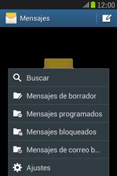 Samsung S6310 Galaxy Young - Mensajería - Configurar el equipo para mensajes de texto - Paso 5