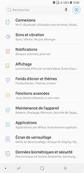 Samsung Galaxy A7 2018 - Applications - Supprimer une application - Étape 4