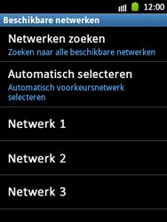 Samsung S5300 Galaxy Pocket - Netwerk - gebruik in het buitenland - Stap 10