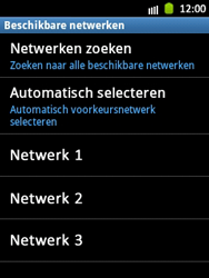 Samsung S5300 Galaxy Pocket - Buitenland - Bellen, sms en internet - Stap 9