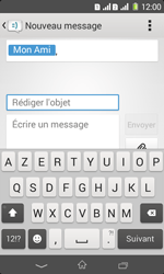 Sony Xpéria E1 Dual - Contact, Appels, SMS/MMS - Envoyer un MMS - Étape 12