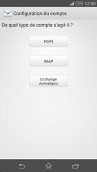 Sony D5803 Xperia Z3 Compact - E-mail - Configuration manuelle - Étape 7