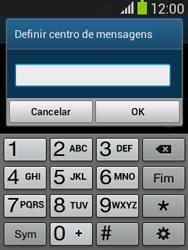Samsung Galaxy Pocket Neo - SMS - Como configurar o centro de mensagens -  7