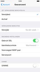Apple iPhone 6 iOS 8 - E-mail - Account instellen (IMAP met SMTP-verificatie) - Stap 25