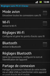 Sony ST27i Xperia Go - Wifi - configuration manuelle - Étape 4