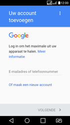LG K4 (2017) (M160) - Applicaties - Account aanmaken - Stap 3