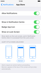 Apple iPhone 6s iOS 10 - iOS features - Customise notifications - Step 6