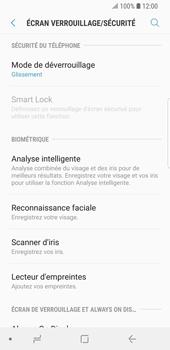 Samsung Galaxy S9 - Sécuriser votre mobile - Activer le code de verrouillage - Étape 5