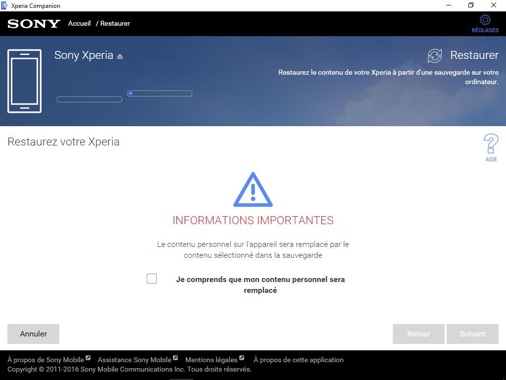Sony Xperia XA2 - Aller plus loin - Gérer vos données avec un ordinateur - Étape 15