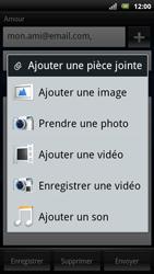 Sony Ericsson Xperia Arc S - E-mail - envoyer un e-mail - Étape 10