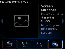 BlackBerry 9800 Torch - Applications - Downloading applications - Step 10