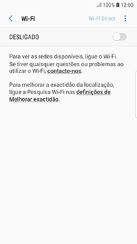 Samsung Galaxy S7 Edge - Android Oreo - Wi-Fi - Como ligar a uma rede Wi-Fi -  6