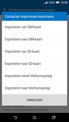 HTC One A9 - Contacten en data - Contacten kopiëren van toestel naar SIM - Stap 8