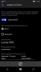 Microsoft Lumia 950 - WiFi - Mobiele hotspot instellen - Stap 10