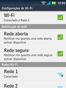 Motorola Master XT605 - Wi-Fi - Como configurar uma rede wi fi - Etapa 9