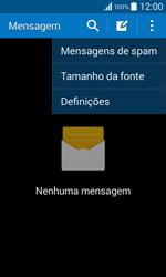 Samsung Galaxy Core II - SMS - Como configurar o centro de mensagens -  5