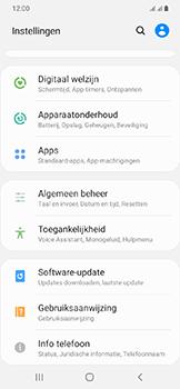 Samsung Galaxy A20e - Software update - update installeren zonder PC - Stap 4