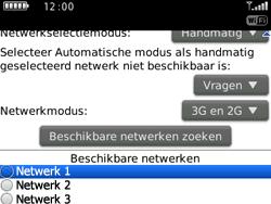 BlackBerry 9300 Curve 3G - Bellen - in het buitenland - Stap 7