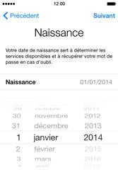 Apple iPhone 4S (iOS 8) - Premiers pas - Créer un compte - Étape 14