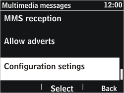 Nokia Asha 302 - MMS - Automatic configuration - Step 10