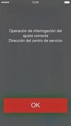 Apple iPhone 5s - Mensajería - Configurar el equipo para mensajes de texto - Paso 4