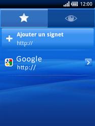 Sony Ericsson Xperia X10 Mini - Internet - Navigation sur internet - Étape 14