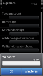 Nokia N8-00 - Internet - Handmatig instellen - Stap 21