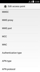Huawei Y625 - MMS - Manual configuration - Step 11