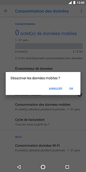 Nokia 7 Plus - Internet - Désactiver les données mobiles - Étape 7