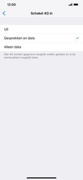 Apple iPhone XR - Netwerk - Wijzig netwerkmodus - Stap 6