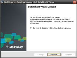 BlackBerry 9780 Bold - Software - Update installeren via PC - Stap 12
