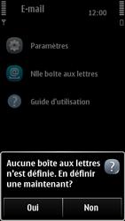 Nokia 500 - E-mail - Configuration manuelle - Étape 5