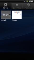 Sony Ericsson Xperia Ray - Internet - navigation sur Internet - Étape 8