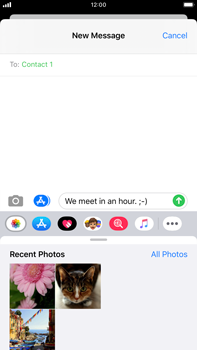 Apple iPhone 8 Plus - iOS 13 - MMS - Sending a picture message - Step 11