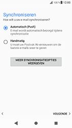 Sony Xperia XZ - Android Oreo - E-mail - e-mail instellen: IMAP (aanbevolen) - Stap 19