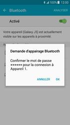 Samsung J500F Galaxy J5 - Bluetooth - connexion Bluetooth - Étape 9