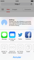 Apple iPhone 5 iOS 7 - Internet - navigation sur Internet - Étape 16