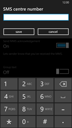 Nokia Lumia 930 - SMS - Manual configuration - Step 7