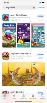Apple iPhone XS Max - Aplicações - Como pesquisar e instalar aplicações -  12