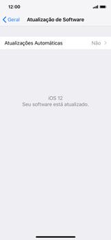 Apple iPhone iOS 12 - Funções básicas - Como atualizar o software do seu aparelho - Etapa 6