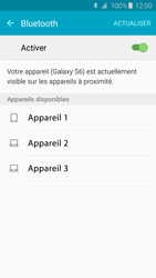 Samsung G920F Galaxy S6 - Bluetooth - connexion Bluetooth - Étape 8