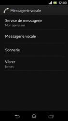 Sony C1905 Xperia M - Messagerie vocale - Configuration manuelle - Étape 6